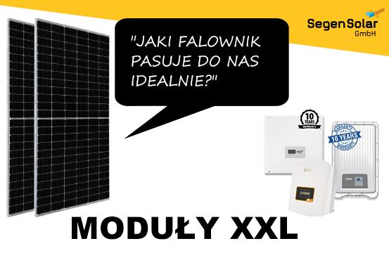 Falowniki dla modułow w rozmiarach XXL